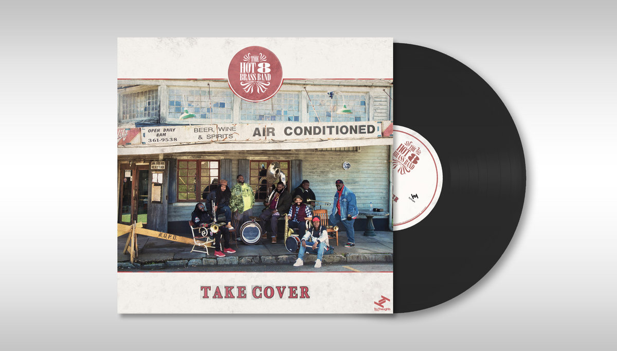 Take Cover   Hot 8 Brass Band
