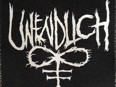 """Unendlich Logo Patch 4"""" X 4"""" main photo"""