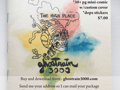 """The High Place"" mini-comic main photo"