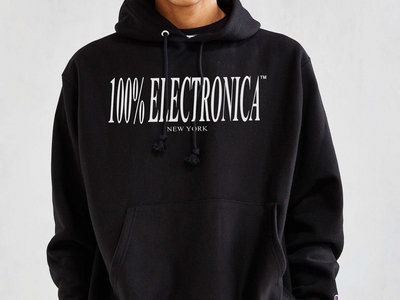 100% Electronica Hoodie (Champion Reverse Weave) main photo