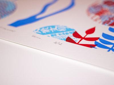 Gaijin Blues 3 colour hand-screened art print. Only 12 made! main photo