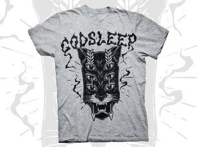Tiger Headstock - Sport Grey T-shirt main photo