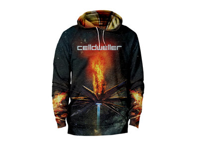 Celldweller - Wish Upon A Blackstar Cut & Sew All-Over Print Hoodie main photo