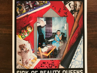 """Sick Of Beauty Queens"" 48 page lyric book main photo"