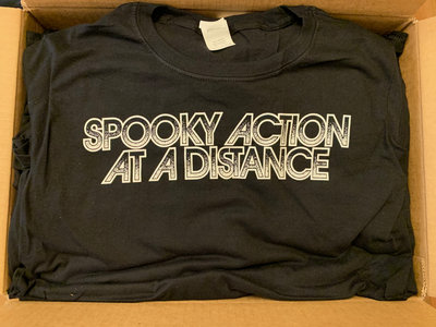 Spooky Action At A Distance Logo T-Shirt main photo