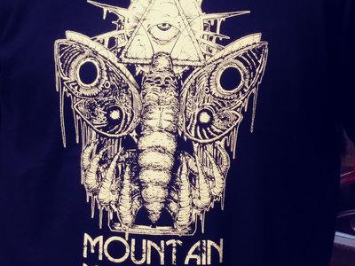 "Mountain Mirrors ""Sacred Moth"" Shirt (Midnight Blue) main photo"