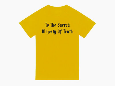 To The Sacred Majesty Of Truth - Yellow main photo