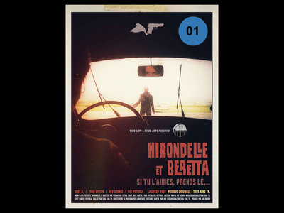Hirondelle & Beretta / Poster 60x80 - free shipping main photo