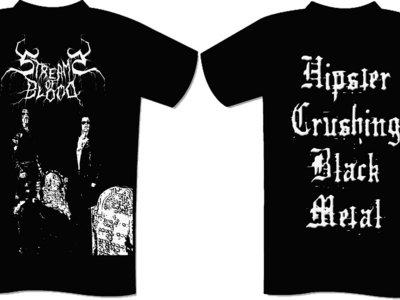 """""""Hipster Crushing Black Metal"""" T-Shirt main photo"""