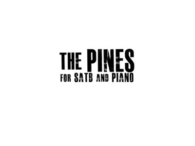 The Pines for SATB and Piano main photo
