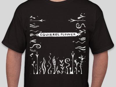 plant squirrel flower tshirt main photo