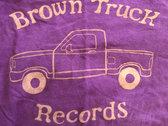 Brown Truck Tee - Purple SIZE XL BIG SALE photo