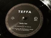 "Teffa - Faulty Line EP (ft. Berrik & Gaze ill) - CLV005 - 12"" vinyl (180g) photo"
