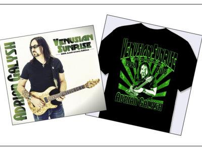 Venusian Sunrise: 20th Anniversary Signed CD & T-Shirt Combo main photo