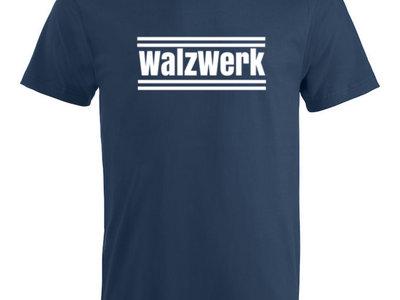 """T-Shirt """"WalzWerk"""" Marine main photo"""