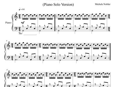 Renaissance Piano Solo Version - Piano Sheet Music & Audio main photo