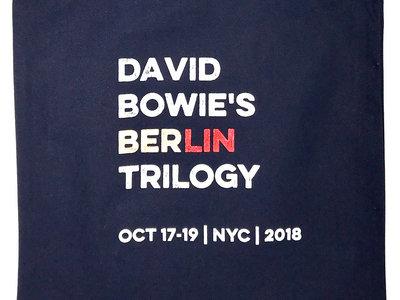 David Bowie's Berlin Trilogy Tote Bag main photo