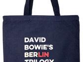 David Bowie's Berlin Trilogy Tote Bag photo