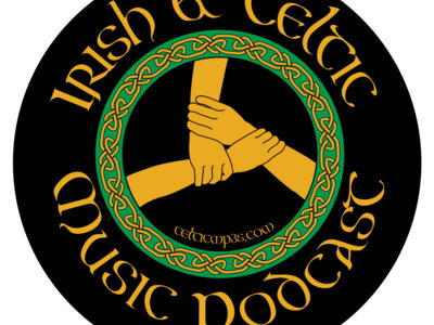 2019 Irish & Celtic Music Podcast - Circle Sticker main photo