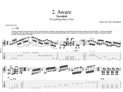 'Everything That Is You' Complete Digital Guitar Transcription main photo