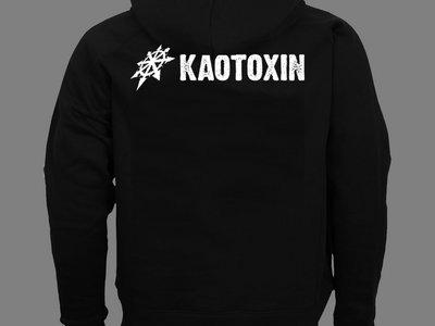 "KAOTOXIN ""Old-School Logo"" ZIPPED HOODIE main photo"