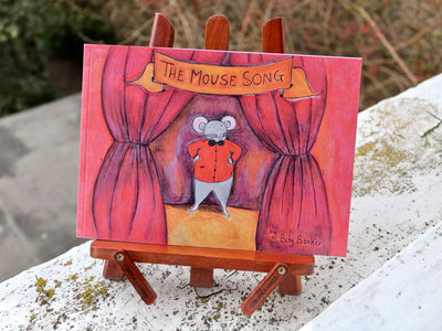 Limited Edition 'The Mouse Song' Illustrated Book + Song main photo