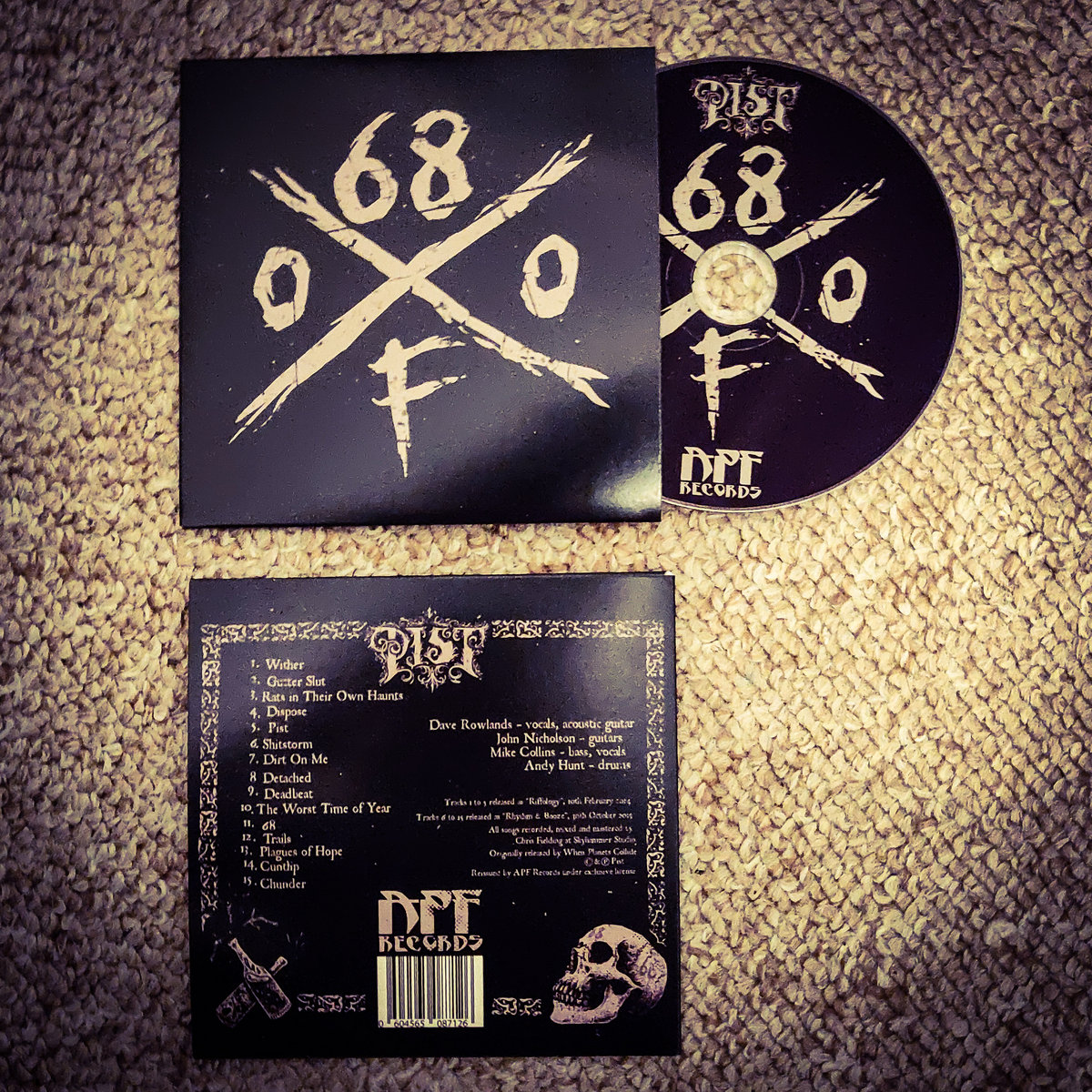 68ofo Limited Edition 2019 Tour Cd