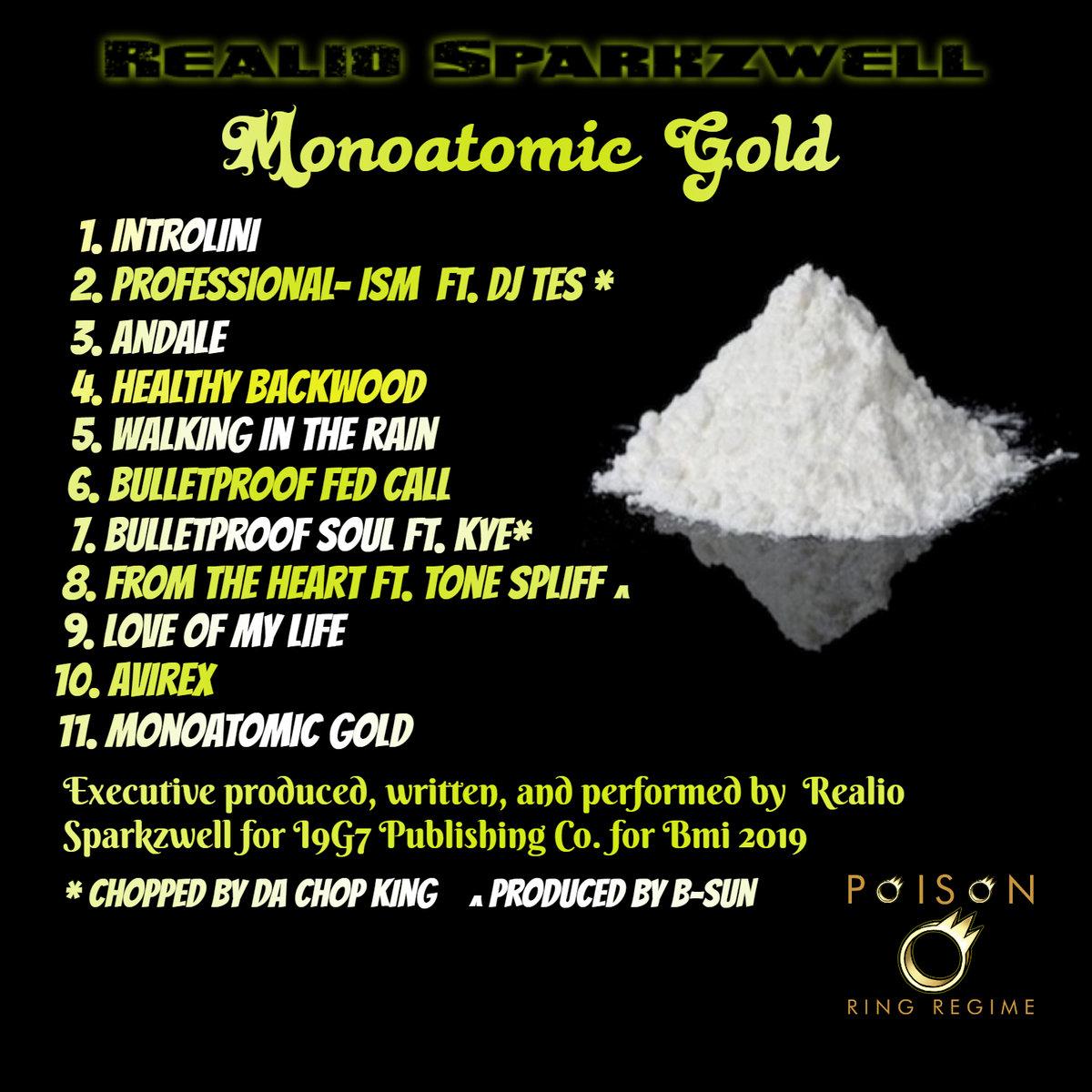 Monoatomic Gold | Realio Sparkzwell