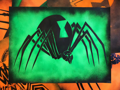Spider Stencil Poster main photo