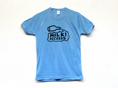 MILK! RECORDS Milk Logo MUSCLE TSHIRT [SKY BLUE] main photo