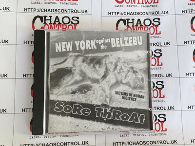 New York Against The Belzebu / Sore Throat – Victims Of Human Violence CD main photo