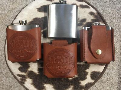 6oz Handmade Leather Belt Flask main photo