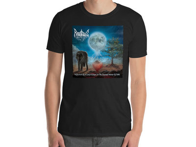 At Radogost's Gates - Reflection Of A Lunar Eclipse In The Stained Mirror Of Time T-Shirt main photo