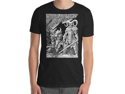 Arduous Task / Gravewurm - Spawn Of The Sacrilege T-Shirt main photo