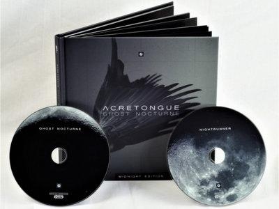 ACRETONGUE: Ghost Nocturne 2CD Book main photo