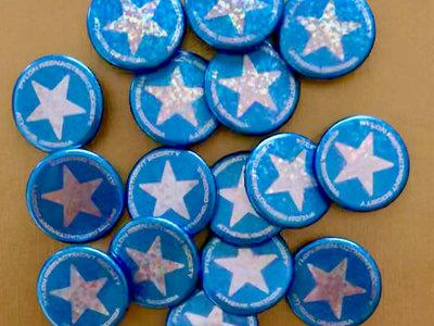 Blue Star Design Button - 5 buttons main photo