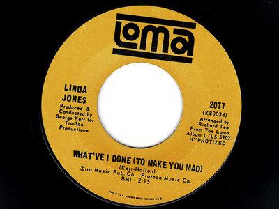 WHAT'VE I DONE (TO MAKE YOU MAD) - LINDA JONES - NM main photo