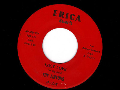 LOST LOVE - THE LINTONS - VG+ main photo