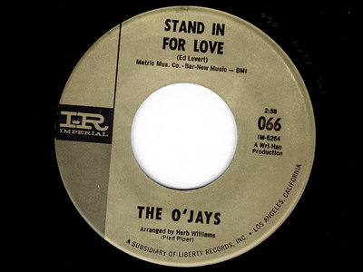 STAND IN FOR LOVE (LIVE VERSION) - THE O'JAYS - NM main photo