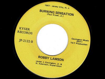 BURNING SENSATION - ROBBY LAWSON - NM main photo