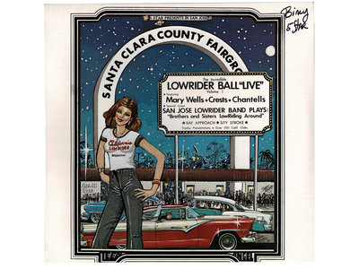 """LOWRIDER BALL """"LIVE"""" LP - M SIGNED & SEALED! main photo"""