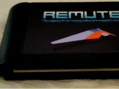 Remute - Technoptimistic [Sega Mega Drive / Genesis Cartridge] main photo