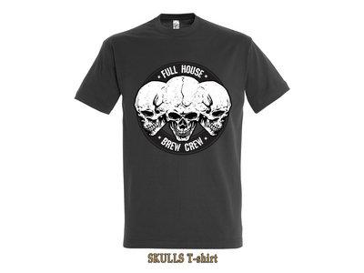 T-shirt Skulls Grey main photo