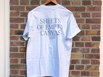 Sheets Of Empty Canvas T-Shirt (White) main photo