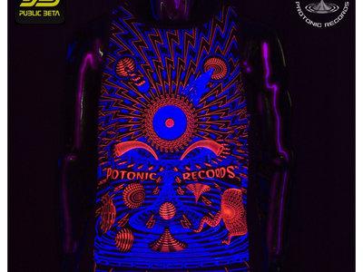 Protonic Sleeveless Shirt - Limited Edition UV Reactive by Public Beta Wear main photo