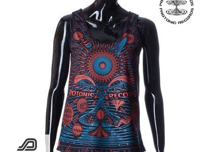 Women Sleeveless - Limited Edition UV Reactive by Public Beta Wear main photo