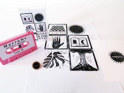 £10 Bundle: Any Cassette + A4 Print + Pin Badge + Postcard main photo