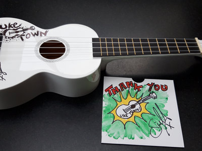 HELP FUND MY NEXT LP - SIGNED 'UKE TOWN' UKULELE (includes free download of Roll To The Left album) main photo