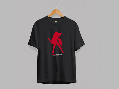 Redsonja Records Logo T Shirt (Black) main photo