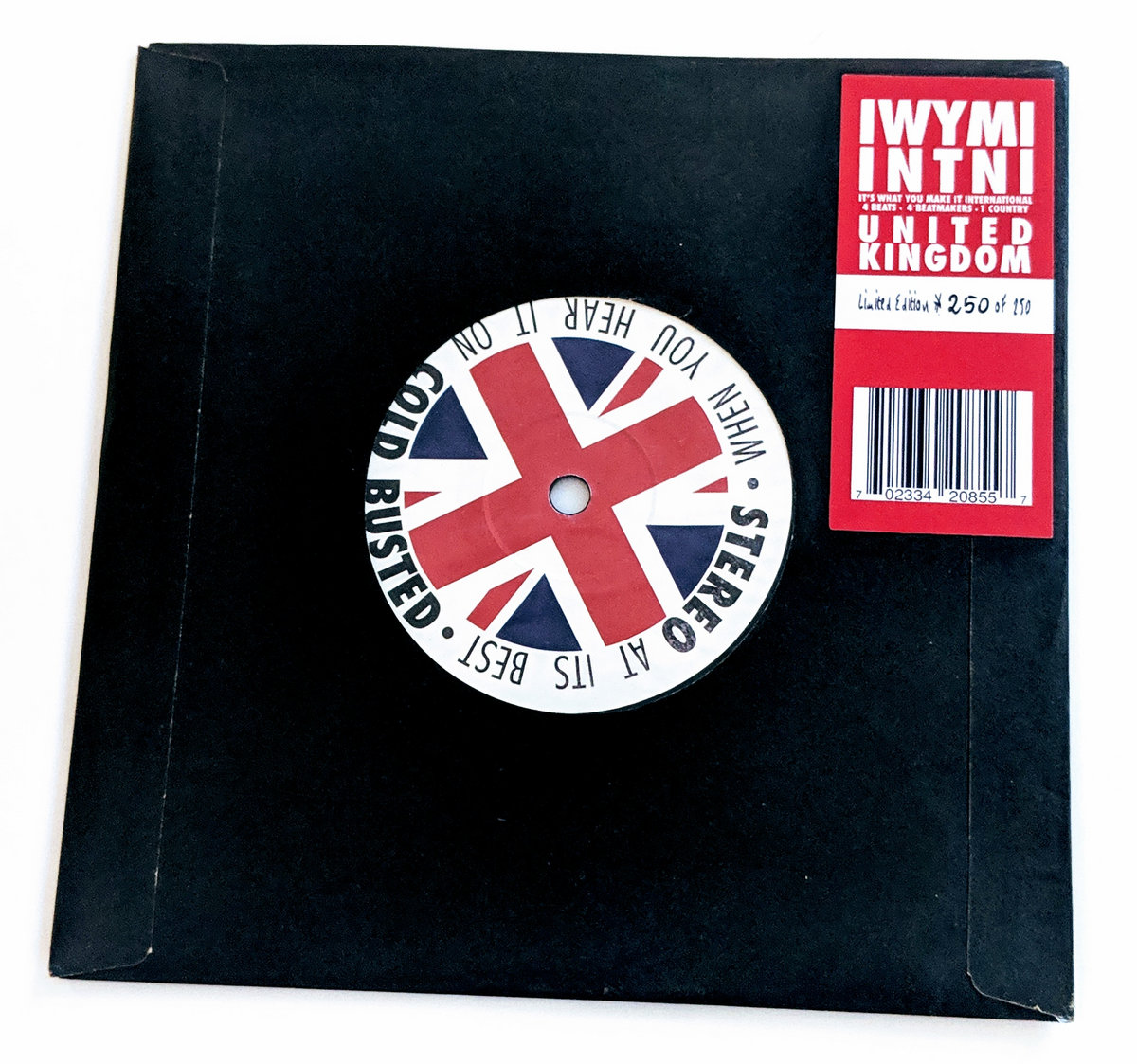 IWYMI INTNl: United Kingdom   Cold Busted